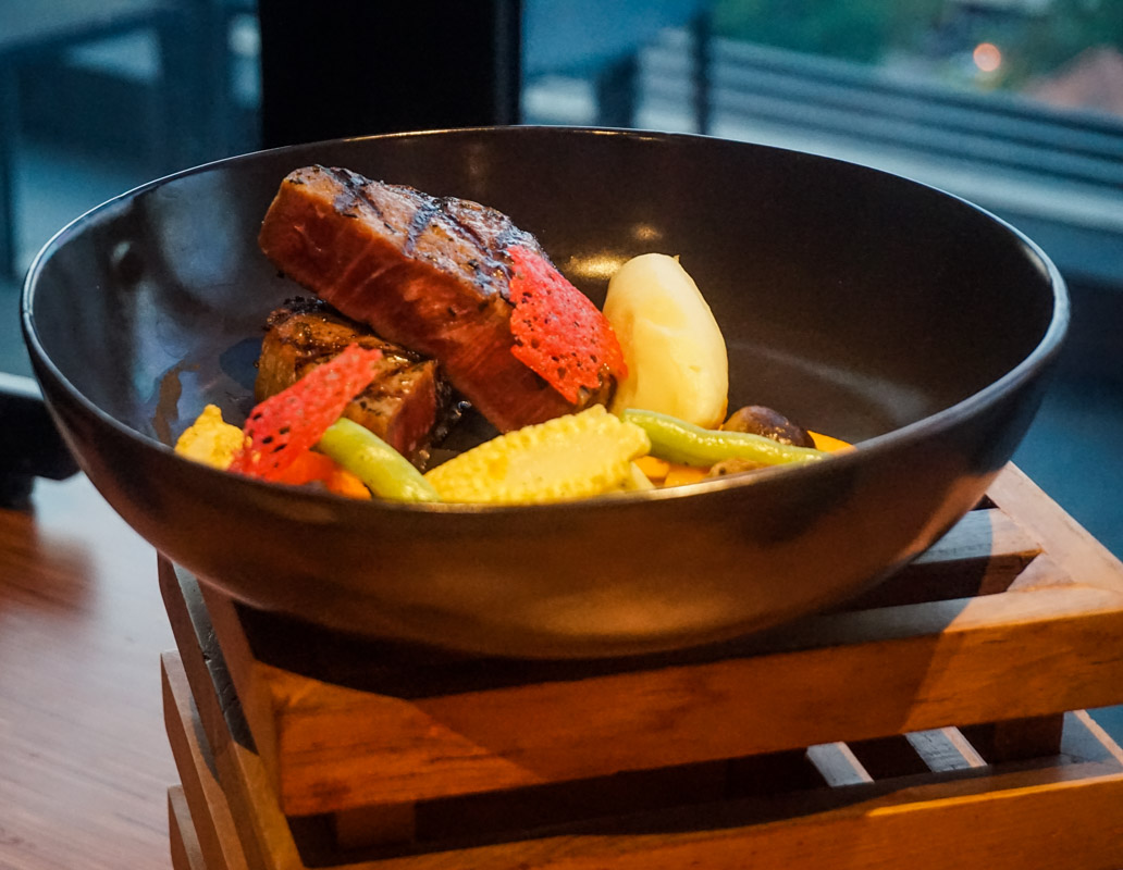 Sous Vide 58' Tenderloin Steak with Classic Jus