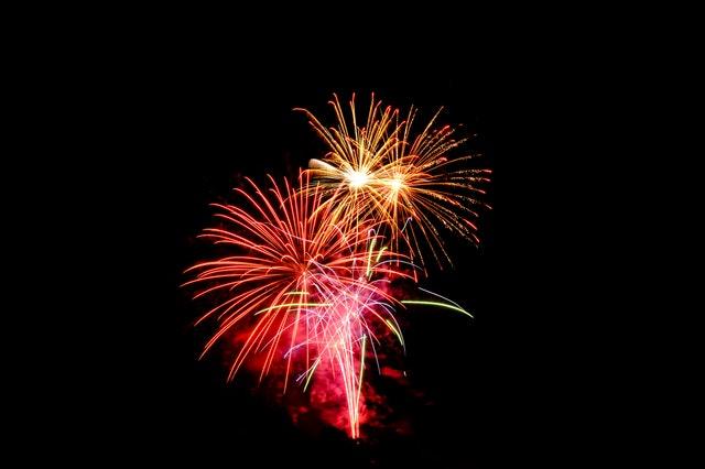 fireworks, pergantian tahun, malam tahun baru