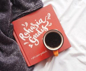 coffe, book, morning routine